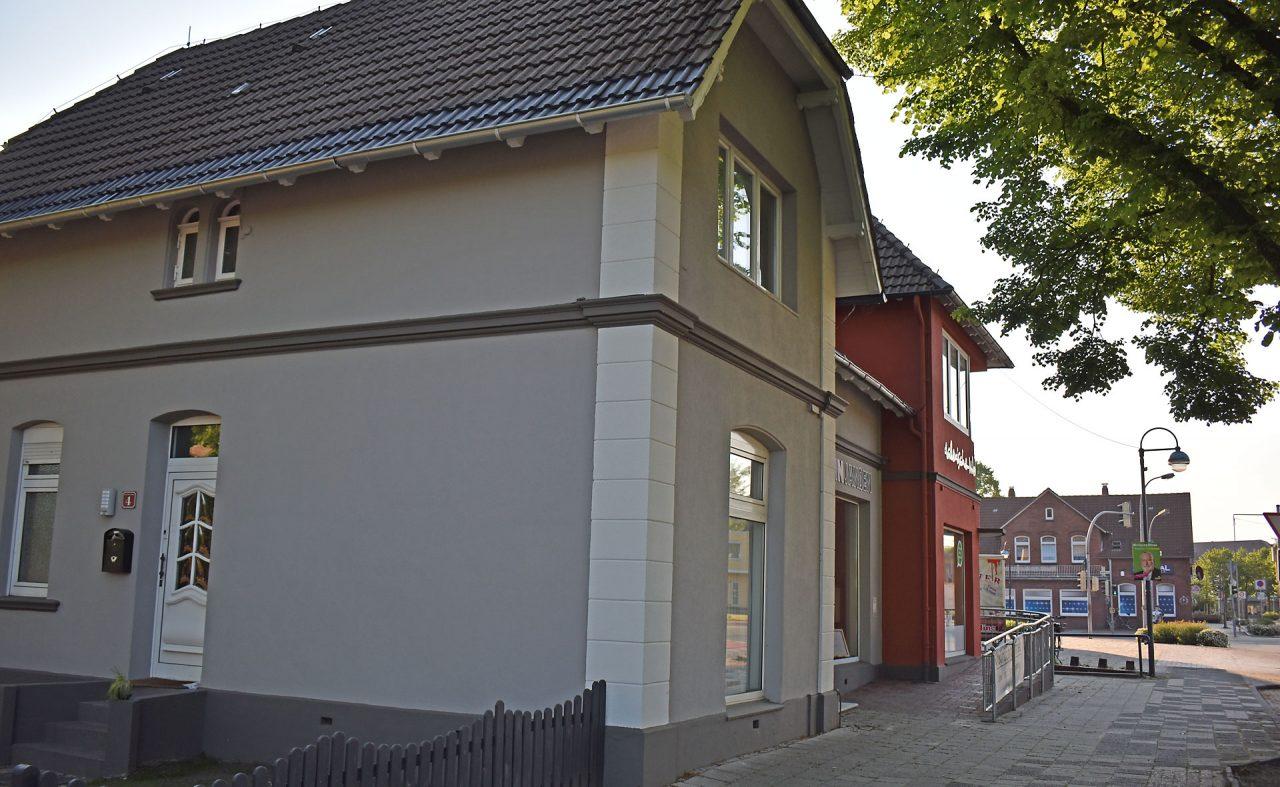 Fassadengestaltung Planung Fassaden Anstrich Sanierung Jever Schortens 04