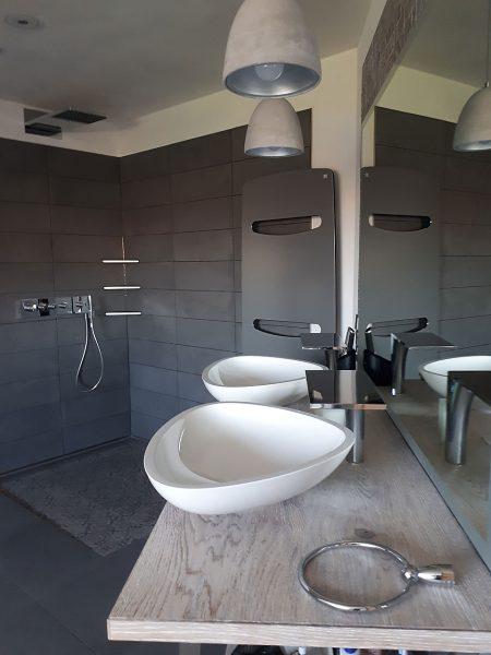 Fugenloses Badezimmer Spachteltechnik Schortens Ostfriesland 06