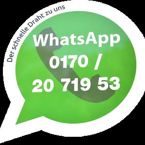WhatsApp - Der schnelle Draht zu uns