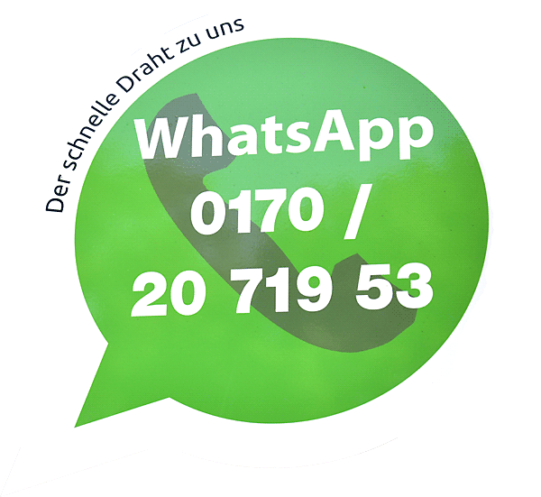 WhatsApp der schnelle Draht zu uns