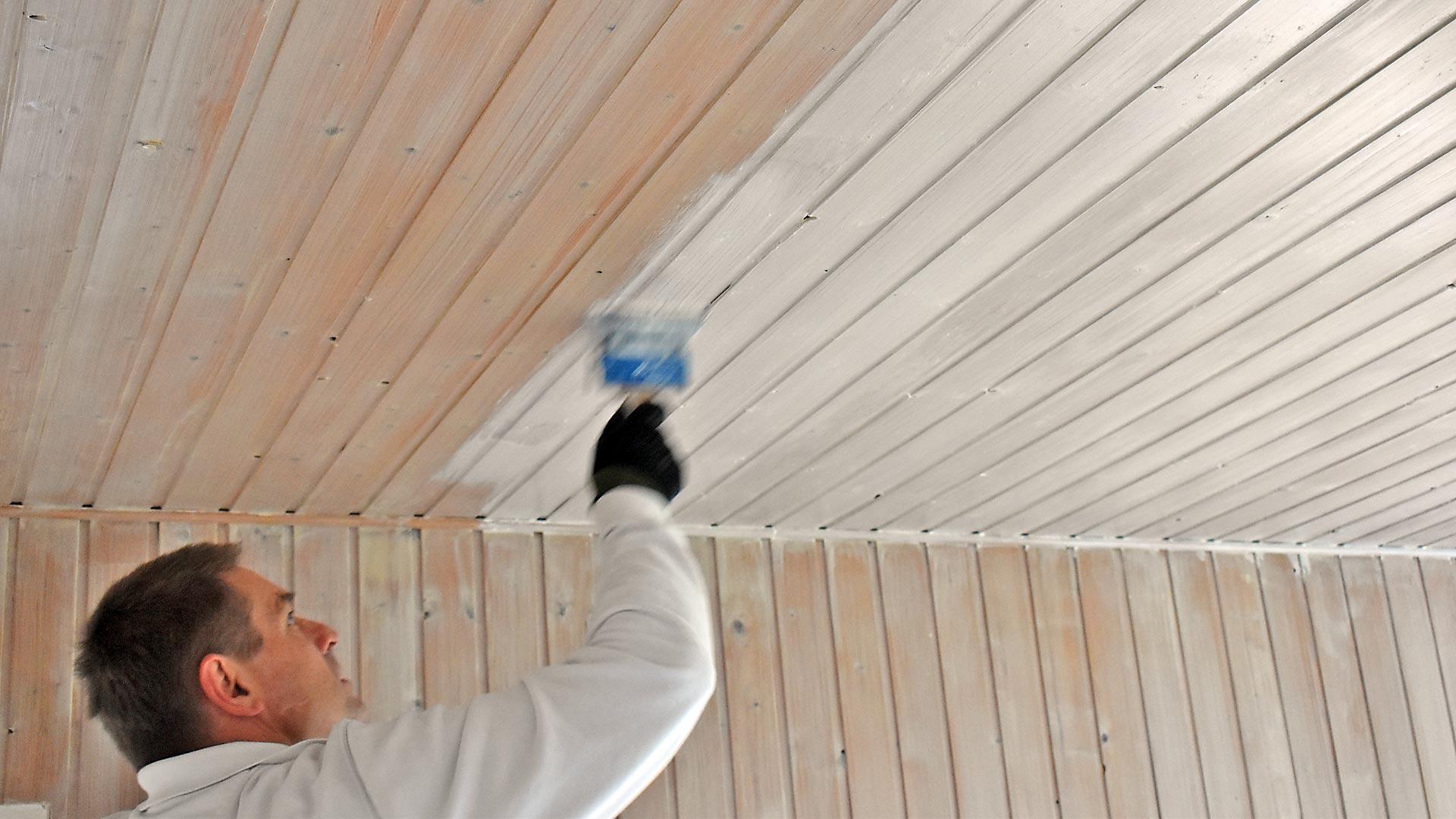Super Lackierarbeiten Holzschutz Lasur Holzdecke streichen Schortens FS89