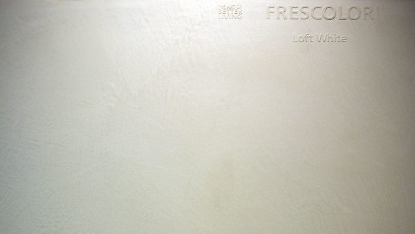 Spachteltechnik Frescolori Loft White