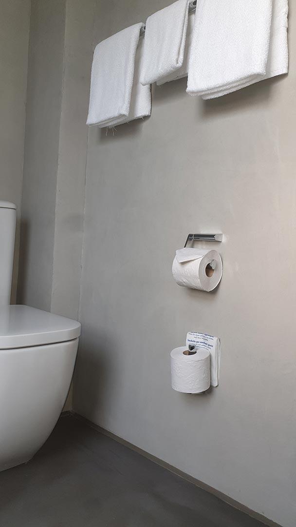 Fugenlos Spachteln Bad Badezimmer Hotel Jever 04